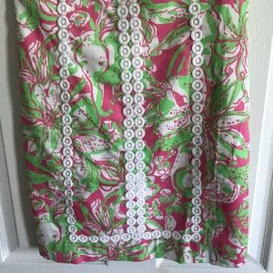 Lilly Pulitzer Dresses - Lilly Pulitzer Pink and Green Shift Dress